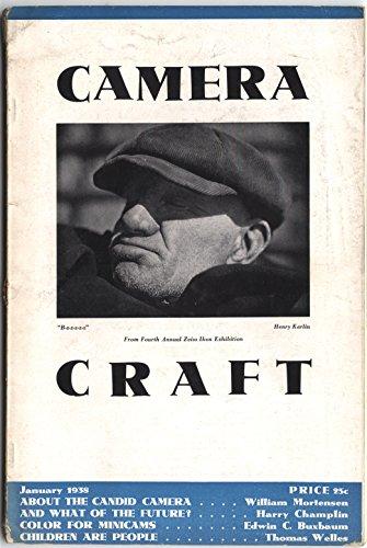 - Camera Craft Magazine January 1938