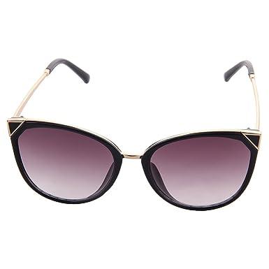 ogobvck les lunettes de soleil uv400 cateye mode moderne miroir (le thé) lK4UJLgh