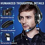 ONIKUMA Gaming Headset- PS4 Headset Xbox one