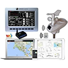Ambient Weather WS-1200-IP Observer Solar Powered Wireless Internet Remote Monitoring Weather Station by Ambient Weather