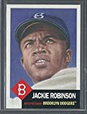 2018 Topps Living Set Card #42 - Jackie Robinson - Print Run: 13147 Online Exclusive SP Brooklyn Dodgers