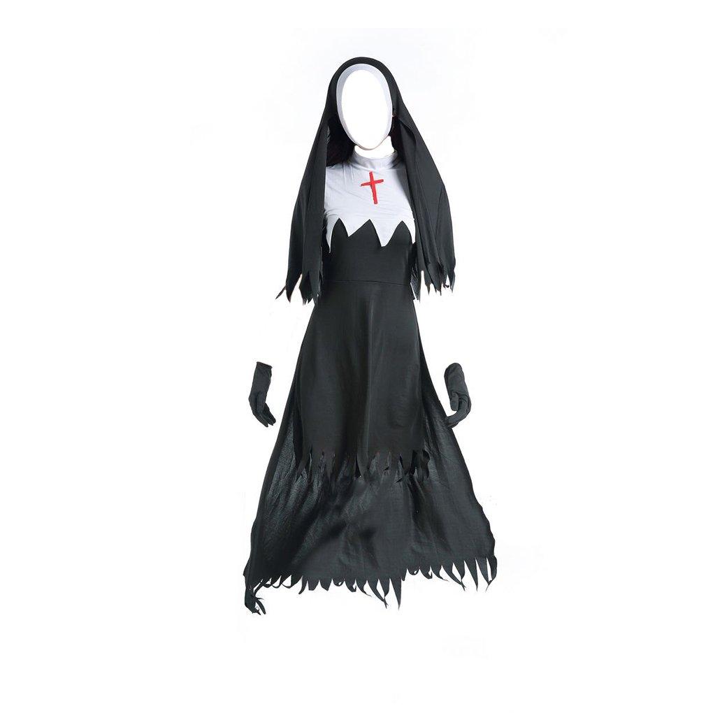 Amazon.com irene inevent Adult Women Halloween Costumes Nun