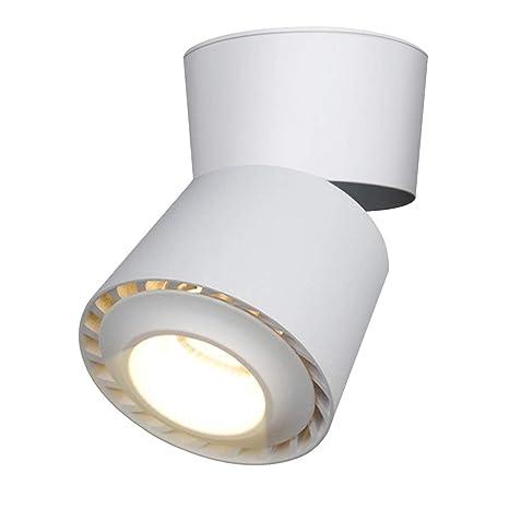 LANBOS 12W Lámpara de techo LED,Foco LED para techo y pared ...