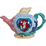 Westland Giftware Ceramic Teapot, Pearl of The Sea, 36 oz., Multicolor