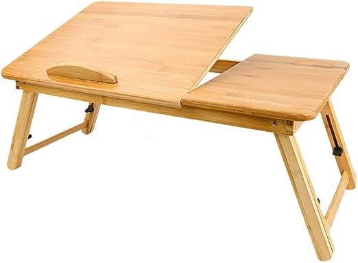 Bai Su Mesa Plegable, sofá, Mesa for Laptop, Bandeja de Desayuno ...