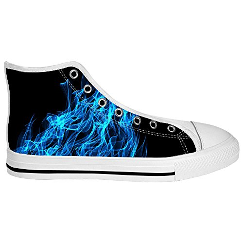 Dalliy feuer feuer Womens Canvas shoes Schuhe Lace-up High-top Footwear Sneakers C