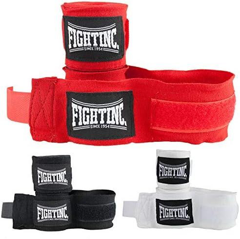450 cm elastisch schwarz rot blau gr/ün neon pink rosa Boxen Kickboxen Kampfsport Fightinc Boxbandagen Elite 4,5m