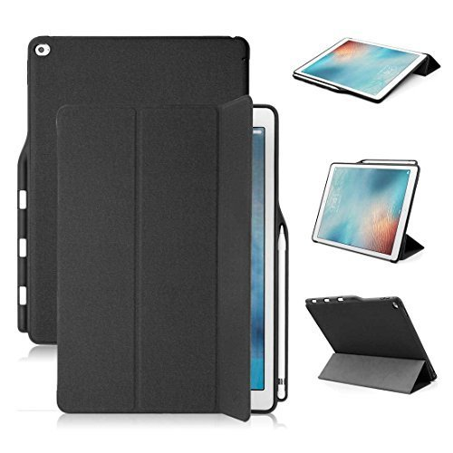 iPad Pro 12.9 Case with Apple pencil holder - Maxace ultr...