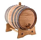 2 Liters American Oak Aging Whiskey Barrel