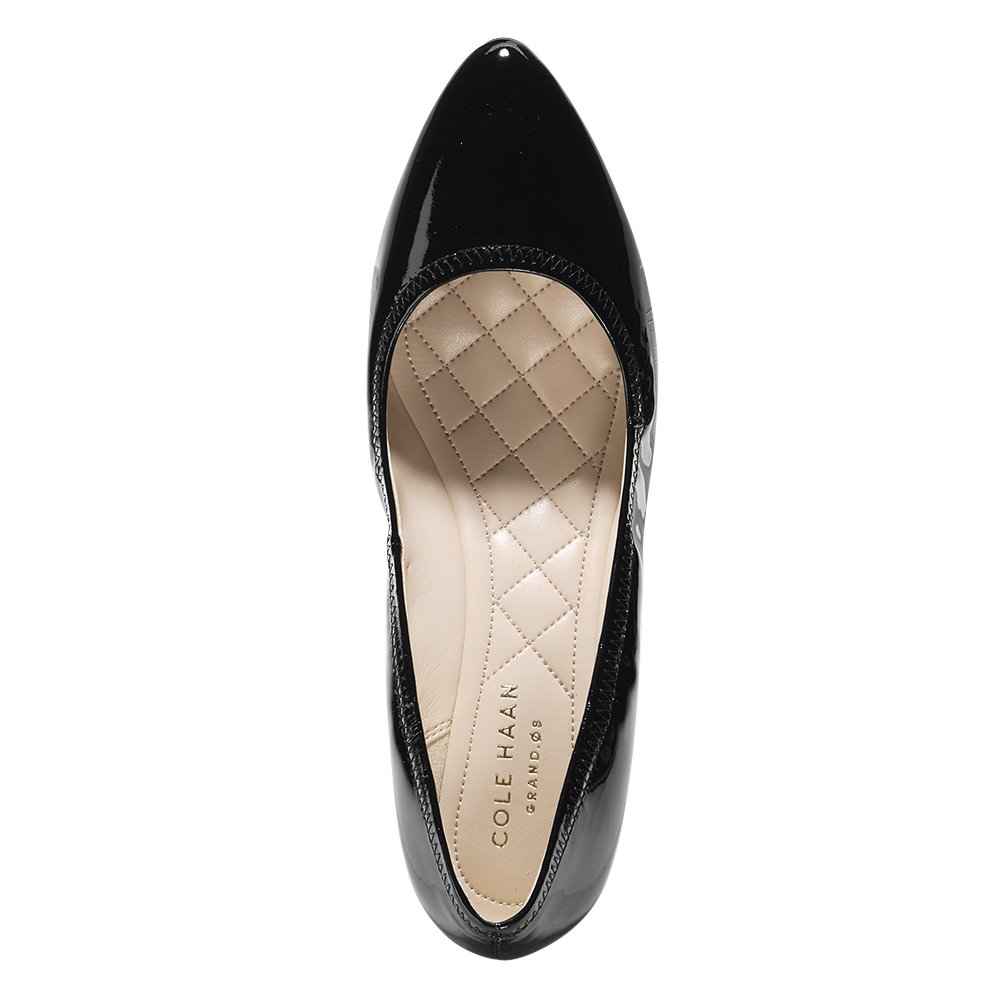 Cole Haan Womens Emory Luxe Wedge 65mm 6.5 Black Patent by Cole Haan (Image #3)