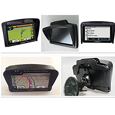 GPS Navigator Anti Reflective Sun Shade for 5 Inch GPS: MP3 Players & Accessories
