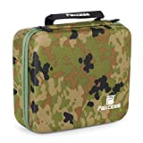Paxcess Solar Generator Protective Bag Carrying Case With Zipper, Durable Shell Exterior & Soft EVA Interior For Travel, Camping & Outdoors (CAMOUFLAGE)