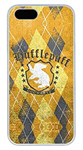 iPhone 5 Case, iPhone 5S Cases - New Release White Hard Cover Case for iPhone 5/5s Harry Potter Hufflepuff Limited Edition Hard Back Case Bumper for iPhone 5/5S