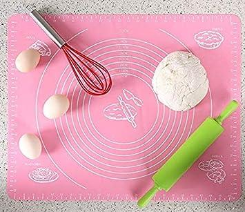 40 x 50cm Kuchendekoration Backwaren und Pl/ätzchen SeHong Silikon Backmatte f/ür Teig mit Messungen Blaue Wiederverwendbar Antihaft- Nicht Giftig und FDA Genehmigt Tisch Pad Nudelbrett