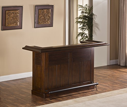 Hillsdale Furniture Hillsdale 64028BCHE Classic Bar, Large, Brown Cherry,