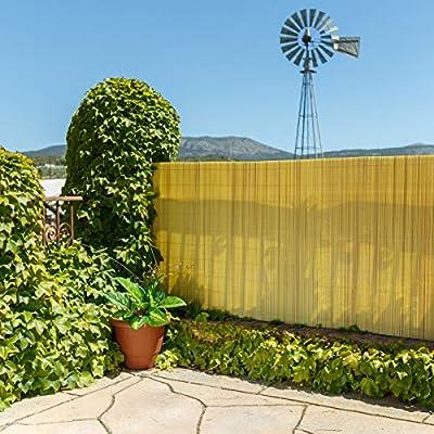 Lola Home Lola Derek Cañizo Artificial de ocultación para jardín, Bambú, 300x150x20 cm: Amazon.es: Jardín