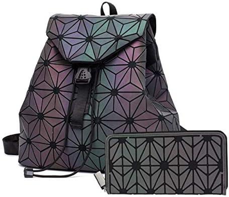حقائب ظهر من TATUE-BAKAKS - حقيبة ظهر نسائية برباط مضيئة حقيبة ظهر مدرسية قابلة للطي للبنات المراهقات موشيلا