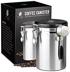 Image of the product Bean Envy Airtight Coffee Canister - 16oz - Vacuum that is listed on the catalogue brand of Bean Envy.
