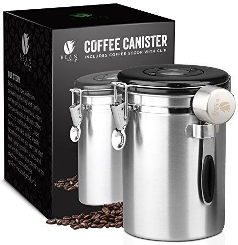 Coffee Canister (Stainless Steel) ()