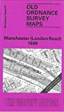 img - for Manchester (London Road) 1849: Manchester Sheet 34 (Old Ordnance Survey Maps of Manchester) by Chris Makepeace (1990-04-06) book / textbook / text book