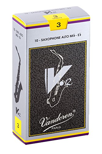 Vandoren SR613 Alto Sax V.12 Reeds Strength 3; Box of 10
