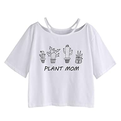 FAPIZI Clearance Summer Women Blouse Hot Sale Short Sleeve Shirt Beach  Letter Print Casual Top at Amazon Women s Clothing store  8c97cf5280