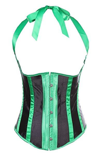 b2414efdc6 Blidece Sexy Waist Trainer Shapewear Vintage Underbust Corset Bustier With  G-String Small