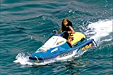 Vintage photo of Andrea Casiraghi go jetski