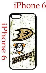 Anaheim Ducks iphone 6 4.7 Case Hard Silicone Case