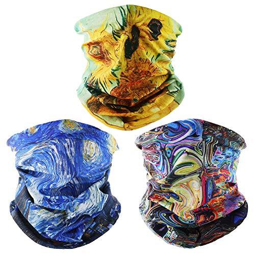 SEPT MIRACLE Headwear, Head Wrap, Headband, Face Bandana Mask, Fishing Mask, Magic Scarf, Tube Mask, Neck Gaiter, Neck Balaclava and Sport Scarf Headband Sweatband for Fishing, Hiking, (My Style)