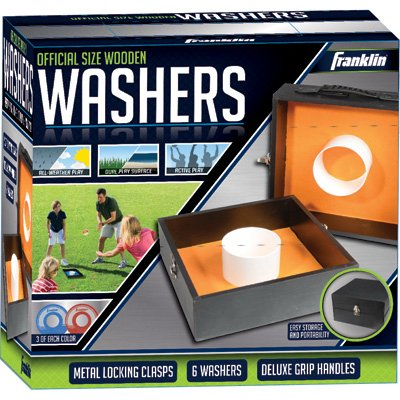 Franklin Sports Industry 52200 Fold 'N Go Washers - Quantity 2