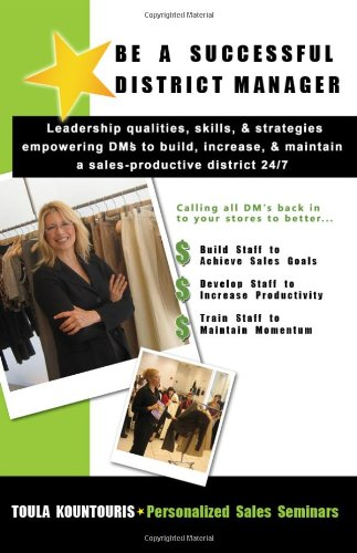 Read Online Be a Successful District Manager ebook