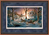 Racing Home Framed Limited Edition Print by Terry Redlin