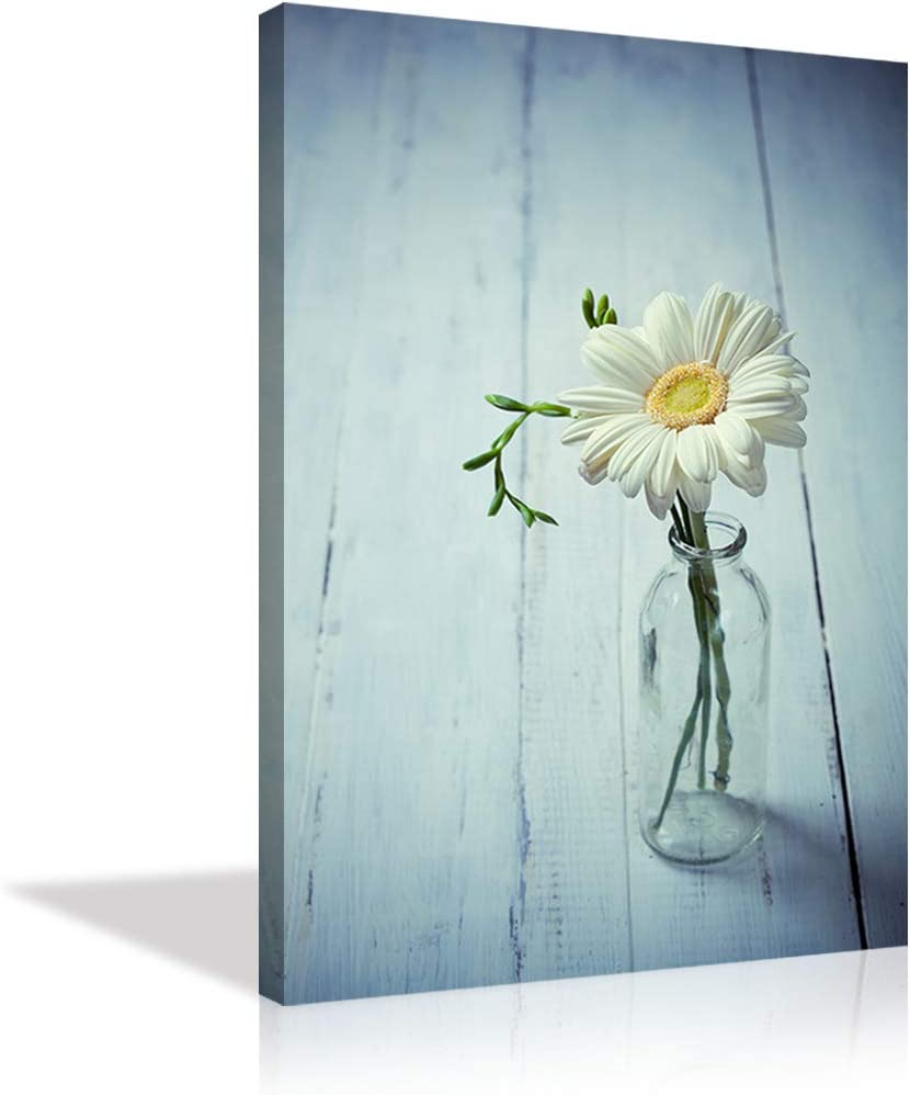 Oil Painting Design Bright Flowers Poster Canvas Print Art Decor Wall