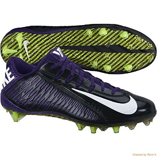 Nike Vapor Carbon Elite Td Heren Voetbal Cleats Zwart / Wit / Nieuwe Orchidee