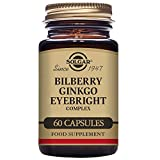 Solgar – Bilberry Ginkgo Eyebright Complex, 60 Vegetable Capsules For Sale