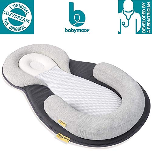 51XZo27CqQL - Babymoov Cosydream Original Newborn Lounger | Ultra-Comfortable Osteopath Designed Nest Certified Safe For Babies (Baby Registry Must-Have)