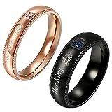 Best Flongo Wedding Ring Sets - His Queen Her King Wedding Ring Set, Flongo Review
