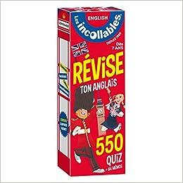 Amazon Com Les Incollables Revise Ton Anglais Des 7 Ans French Edition 9782809665406 Les Incollables Books