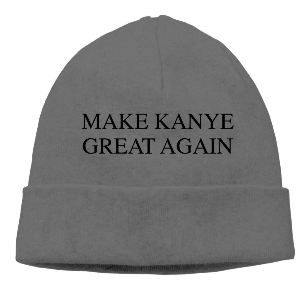 Aiw Wfdnn Make Kanye Great Again Beanie Hat Knit Cap Male