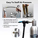 FIRSTINFO Aluminum Pneumatic Manual Compressed