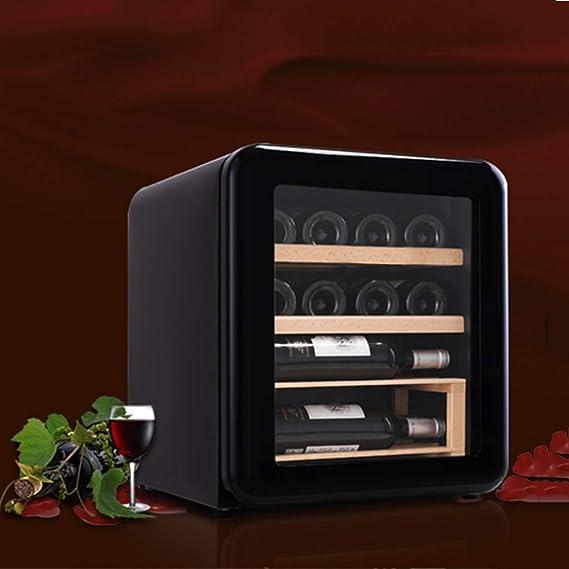 12 Botellas Vinoteca Nevera para Bebidas de Vino Imán de 42L ...