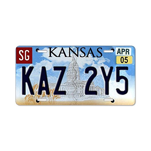 CafePress Aluminum License Plate Vanity