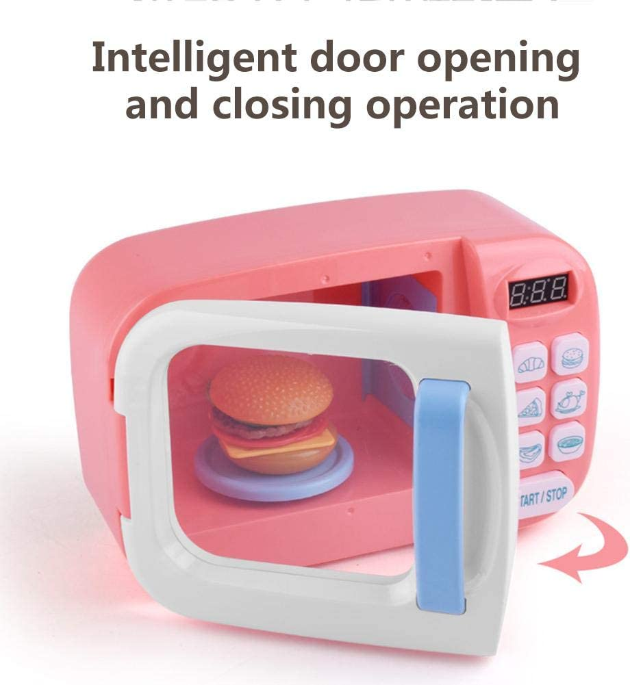 Kitchenware Toys Childrens Playhouse Toys Small Household kitchenware Toys Microwave Oven Tableware Toys