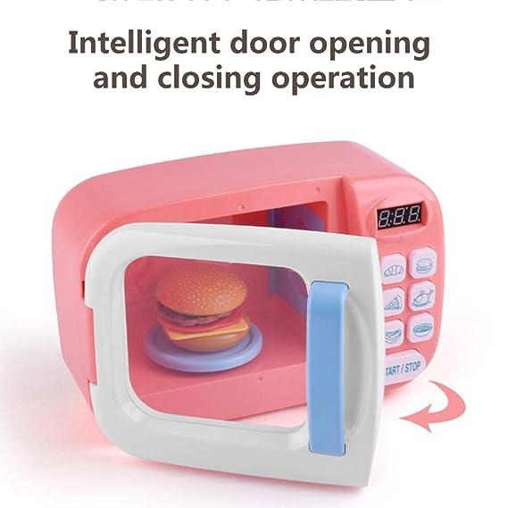 Juguete de microondas con luz de sonido para niños, Cocina ...