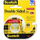 Scotch Double Sided Tape with Dispenser, 3/4 x 300 Inches (237)