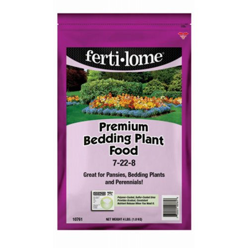- Voluntary Purchasing Group 10761 Fertilome Premium Bedding Plant Food, 4-Pound