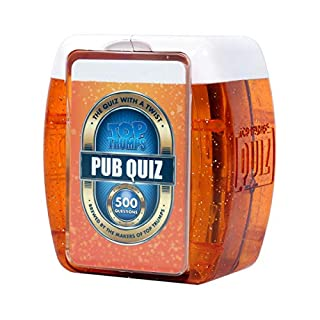 Pub Quiz Top Trumps Quiz Game