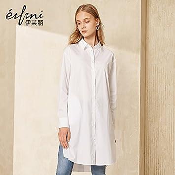 XXIN Largo/Medio/Manga Larga Camisa/Vestido Blanco Camiseta Blanca/M/Hembra: Amazon.es: Deportes y aire libre