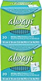 Always Lightly Scented Wipes-to-Go - 20 ct - 2 pk